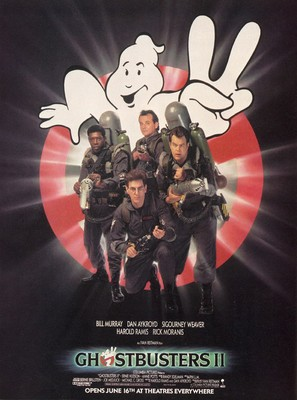 Ghostbusters II - Movie Poster (thumbnail)