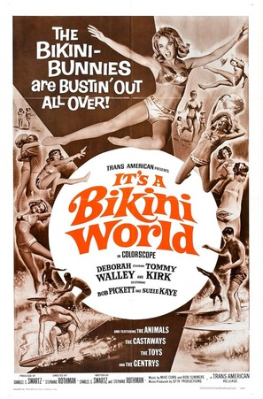 It's a Bikini World - Movie Poster (thumbnail)