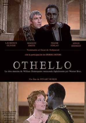 Othello - Spanish Movie Poster (thumbnail)