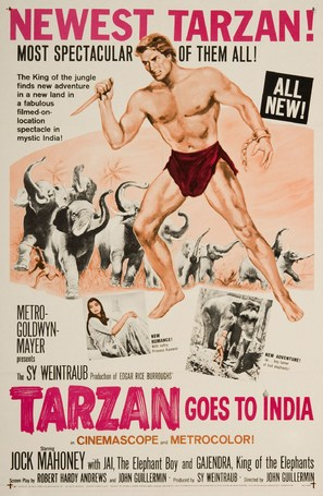 Tarzan Goes to India - Movie Poster (thumbnail)
