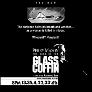 Perry Mason: The Case of the Glass Coffin - poster (thumbnail)