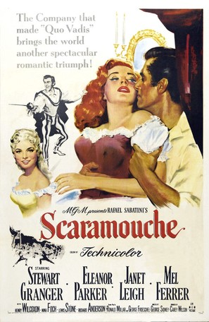 Scaramouche - Theatrical poster (thumbnail)