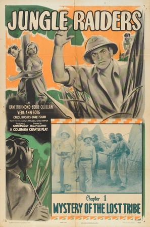 Jungle Raiders - Movie Poster (thumbnail)