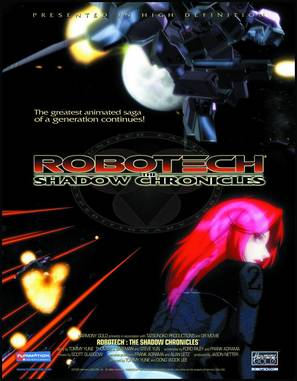 Robotech: The Shadow Chronicles - Movie Poster (thumbnail)