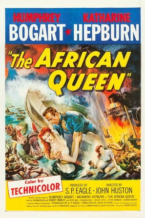 The African Queen - Movie Poster (thumbnail)