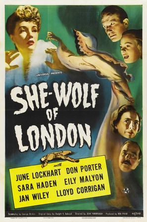 She-Wolf of London - Movie Poster (thumbnail)