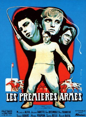 Premières armes - French Movie Poster (thumbnail)