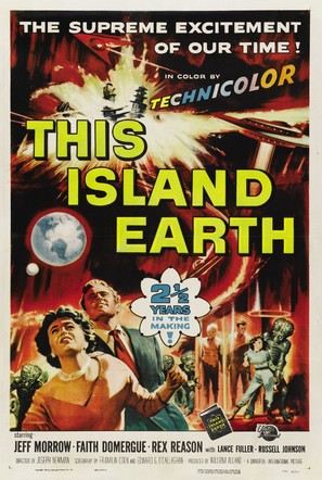 This Island Earth - Theatrical poster (thumbnail)