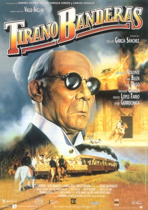 Tirano Banderas - Spanish Movie Poster (thumbnail)