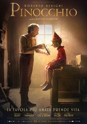 Pinocchio - Italian Movie Poster (thumbnail)