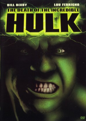 The Death of the Incredible Hulk - DVD movie cover (thumbnail)