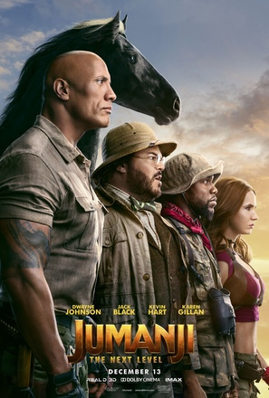 Jumanji: The Next Level - Movie Poster (thumbnail)