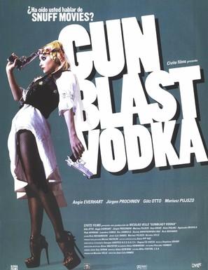 Gunblast Vodka - Spanish Movie Poster (thumbnail)