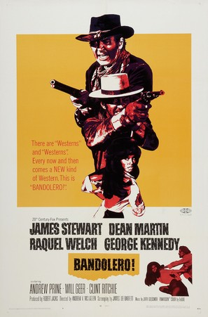 Bandolero! - Movie Poster (thumbnail)