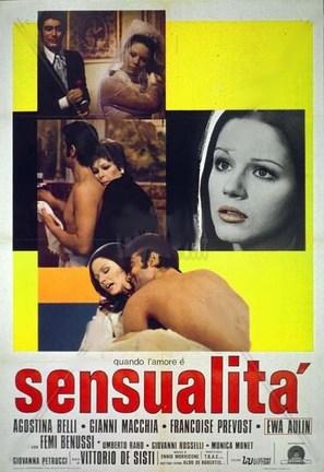 Quando l'amore è sensualità - Italian Movie Poster (thumbnail)