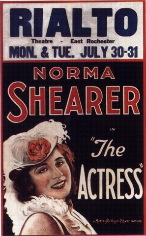 The Actress - Movie Poster (thumbnail)