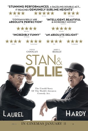 Stan & Ollie - British Movie Poster (thumbnail)