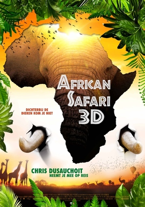 African Safari - Belgian Movie Poster (thumbnail)