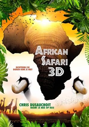 African Safari - Belgian Movie Poster (thumbnail)