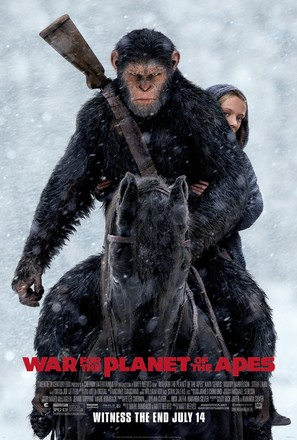 War for the Planet of the Apes - Movie Poster (thumbnail)