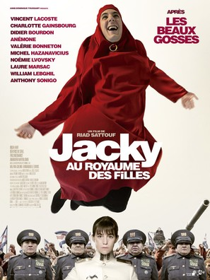 Jacky au royaume des filles - French Movie Poster (thumbnail)