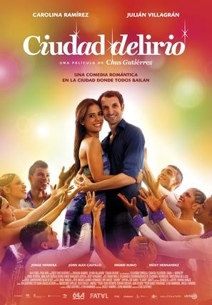 Ciudad Delirio - Spanish Movie Poster (thumbnail)