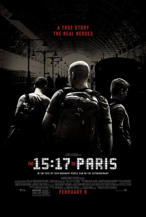 The 15:17 to Paris - Movie Poster (thumbnail)
