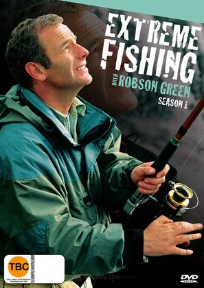 """Extreme Fishing with Robson Green"" - New Zealand DVD movie cover (thumbnail)"
