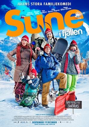 Sune i fjällen - Swedish Movie Poster (thumbnail)