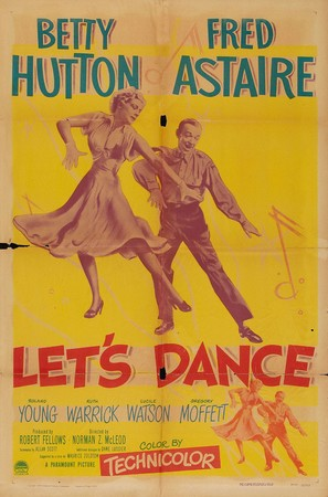 Let's Dance - Movie Poster (thumbnail)