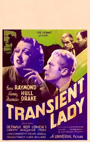 Transient Lady - Movie Poster (thumbnail)