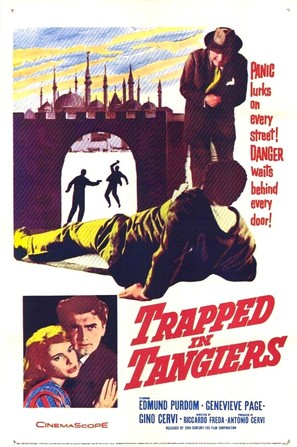 Agguato a Tangeri - Movie Poster (thumbnail)