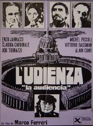 L'udienza - Italian Movie Poster (thumbnail)