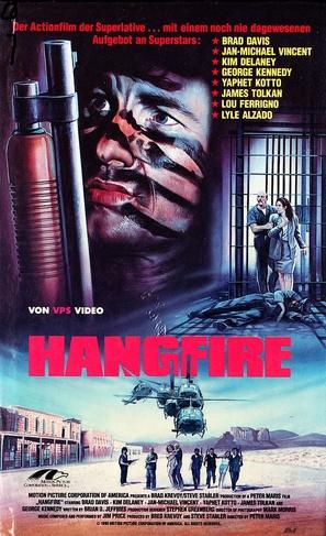 Hangfire - German VHS movie cover (thumbnail)