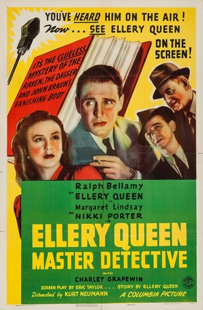 Ellery Queen, Master Detective - Movie Poster (thumbnail)