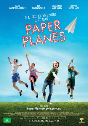 Paper Planes - Australian Movie Poster (thumbnail)