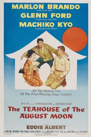The Teahouse of the August Moon - Movie Poster (thumbnail)
