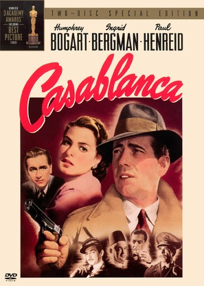 Casablanca - DVD movie cover (thumbnail)