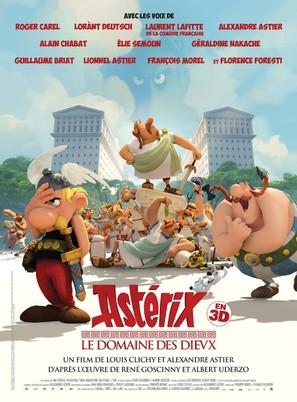 Astérix: Le domaine des dieux - French Movie Poster (thumbnail)