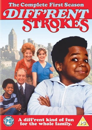 """Diff'rent Strokes"" - British DVD movie cover (thumbnail)"