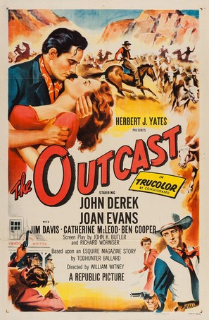 The Outcast - Movie Poster (thumbnail)