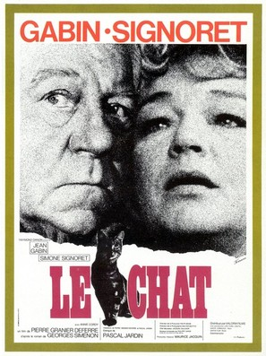 Le chat - French Movie Poster (thumbnail)