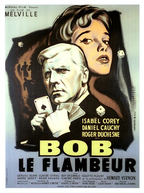 Bob le flambeur - French Movie Poster (thumbnail)