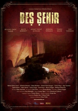 Bes sehir - Turkish Movie Poster (thumbnail)