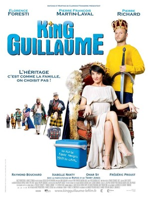 King Guillaume - French Movie Poster (thumbnail)