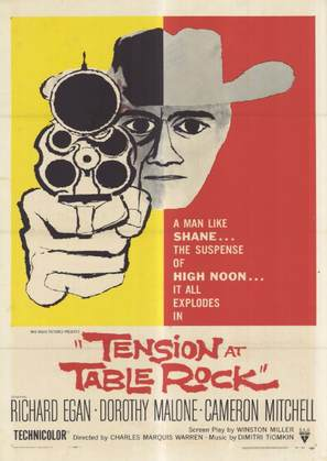 Tension at Table Rock - Theatrical movie poster (thumbnail)