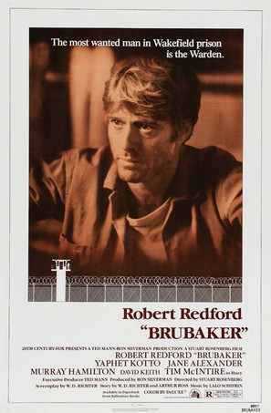 Brubaker - Movie Poster (thumbnail)