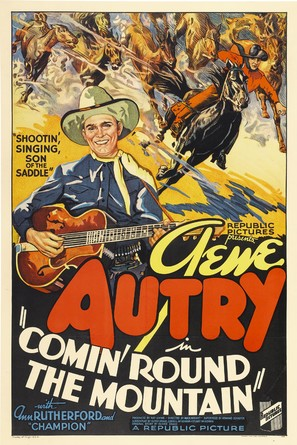 Comin' 'Round the Mountain - Movie Poster (thumbnail)