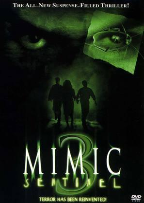 Mimic: Sentinel - DVD movie cover (thumbnail)