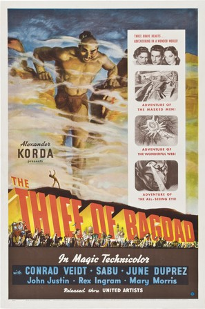 The Thief of Bagdad - Movie Poster (thumbnail)